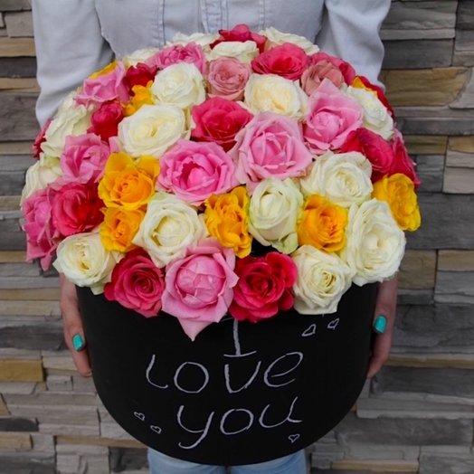 Коробка 27: букеты цветов на заказ Flowwow