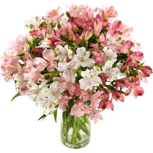 Букет из 29 альстромерий: букеты цветов на заказ Flowwow
