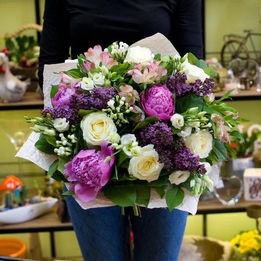 Букет цветов Voyage: букеты цветов на заказ Flowwow