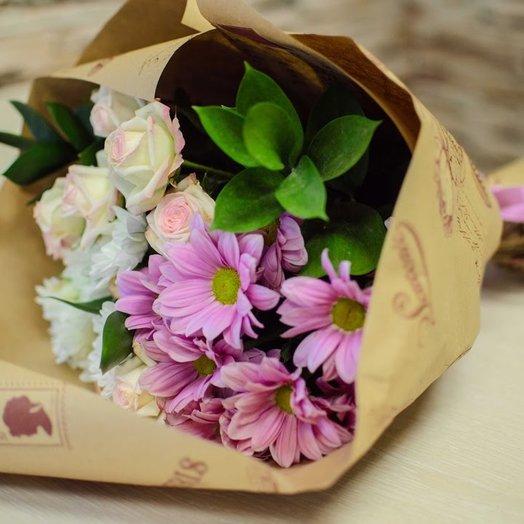 Французский стиль: букеты цветов на заказ Flowwow