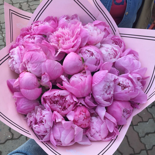 Букет Пионов Нежное Облако: букеты цветов на заказ Flowwow