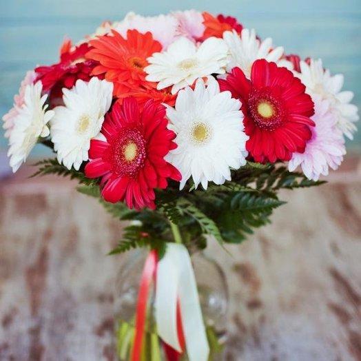 Bouquet of gerberas: flowers to order Flowwow
