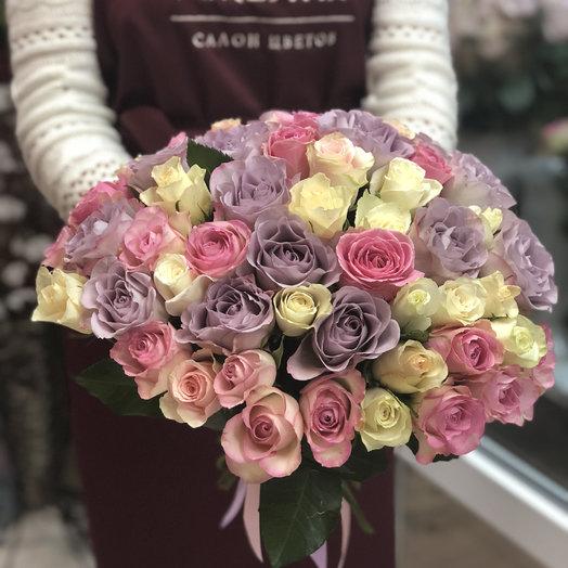 Букет «Нежный»: букеты цветов на заказ Flowwow