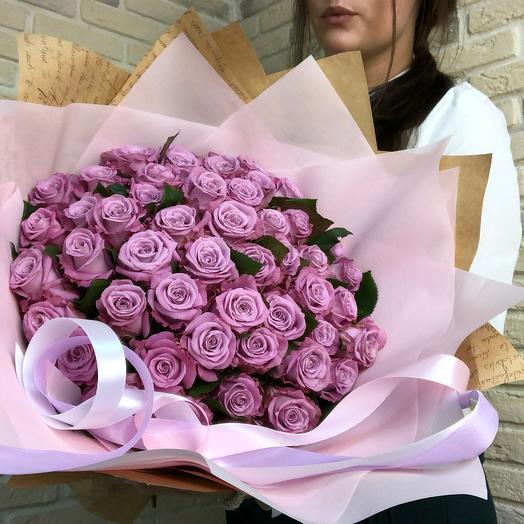 51 фиолетовая роза