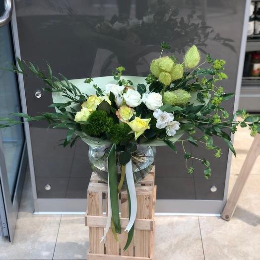 Зелёная долина: букеты цветов на заказ Flowwow