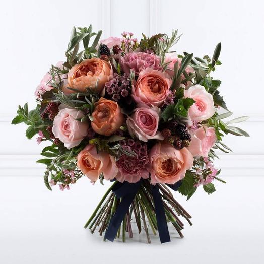 Букет номер тридцать: букеты цветов на заказ Flowwow