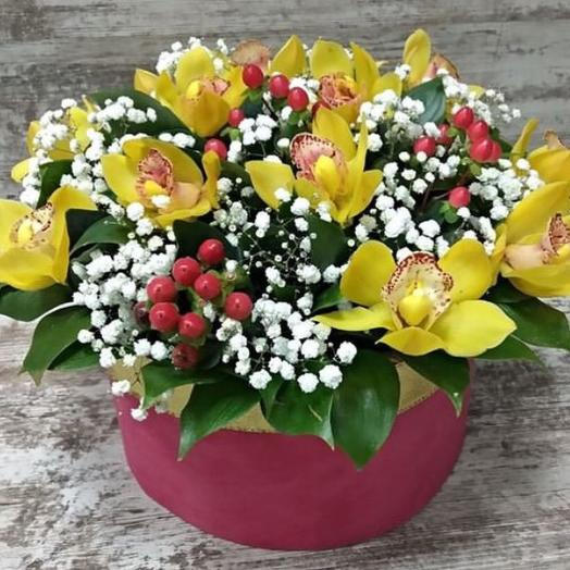 """""""Орхидея в снегу"""": букеты цветов на заказ Flowwow"""