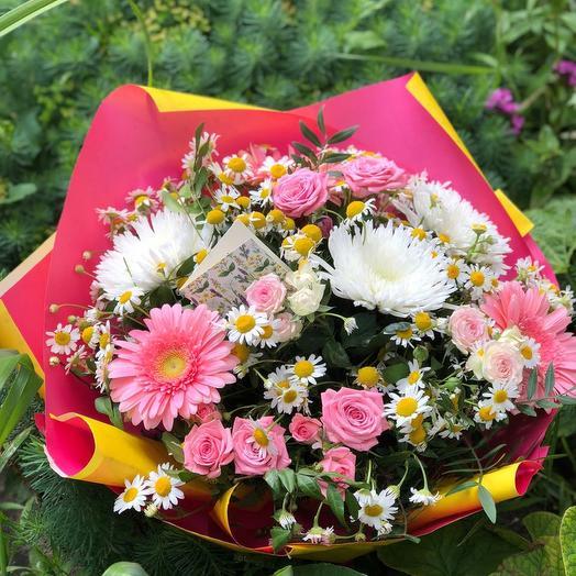 """Букет цветов """"Полевое настроение"""""""