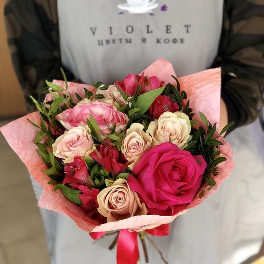 Букет Paris: букеты цветов на заказ Flowwow