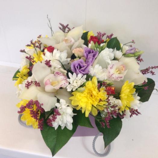 Разноцветное счастье: букеты цветов на заказ Flowwow
