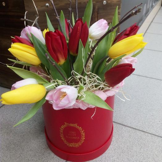 Весеннее настроение: букеты цветов на заказ Flowwow