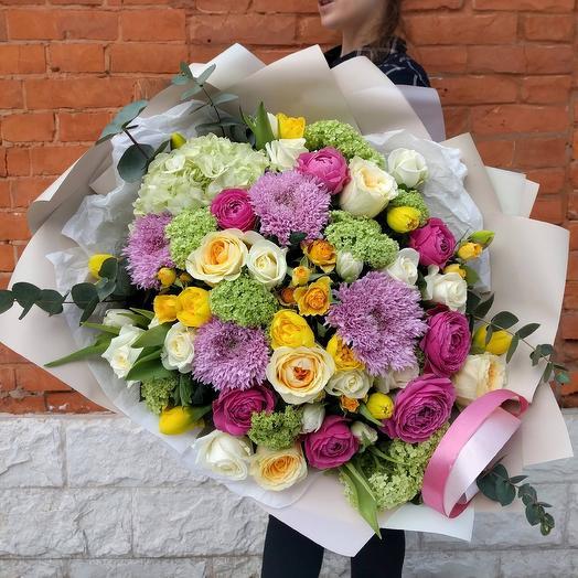 Spring vibe: букеты цветов на заказ Flowwow