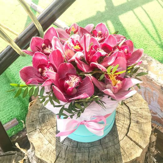 Букет орхидей: букеты цветов на заказ Flowwow