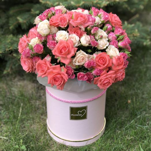 Цилиндр Cylinder with bush rose