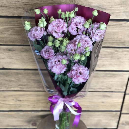 Воздушная эустома: букеты цветов на заказ Flowwow