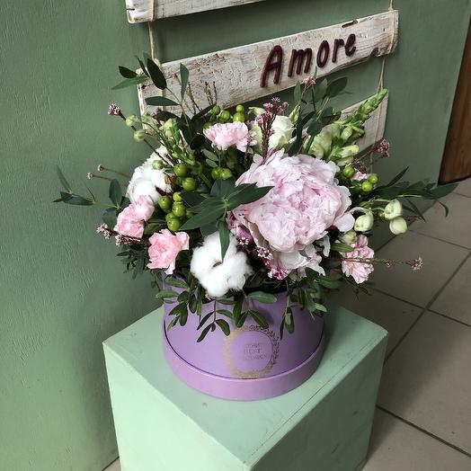 Лавандовый поцелуй: букеты цветов на заказ Flowwow
