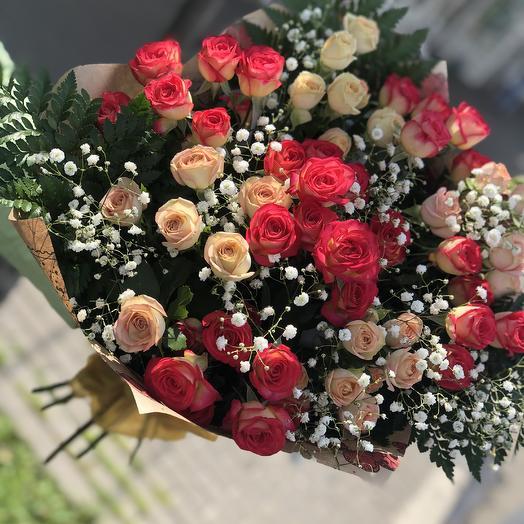 Букет Огоньки: букеты цветов на заказ Flowwow