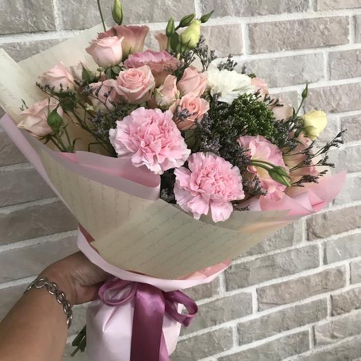Розовый кристалл: букеты цветов на заказ Flowwow