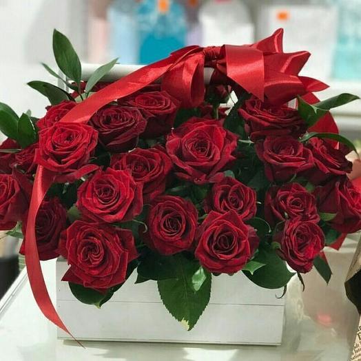 Сундук внимания: букеты цветов на заказ Flowwow