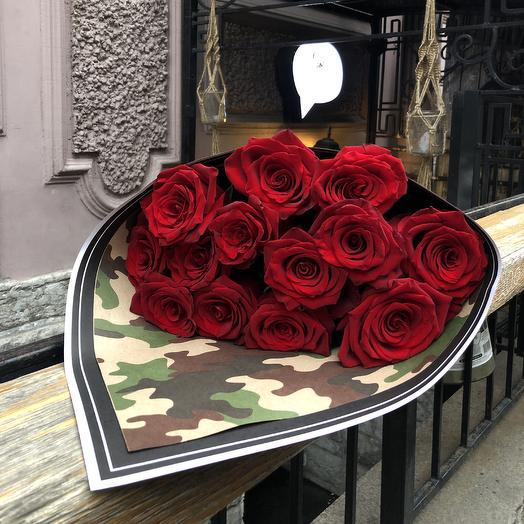 Букет «13»: букеты цветов на заказ Flowwow