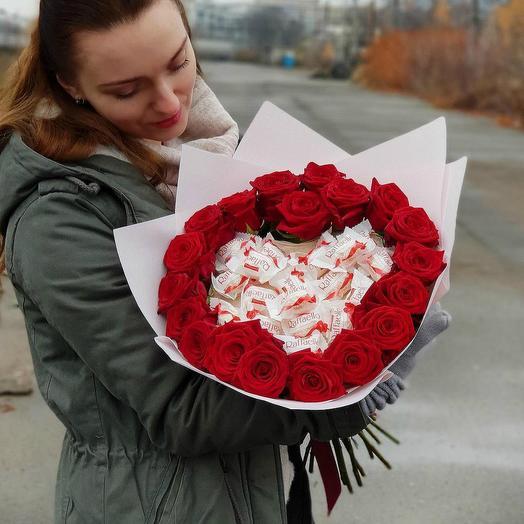 Цветы и Raffaello 1: букеты цветов на заказ Flowwow