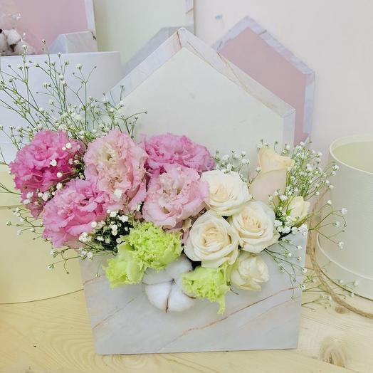 Конвертик для любимого человека: букеты цветов на заказ Flowwow