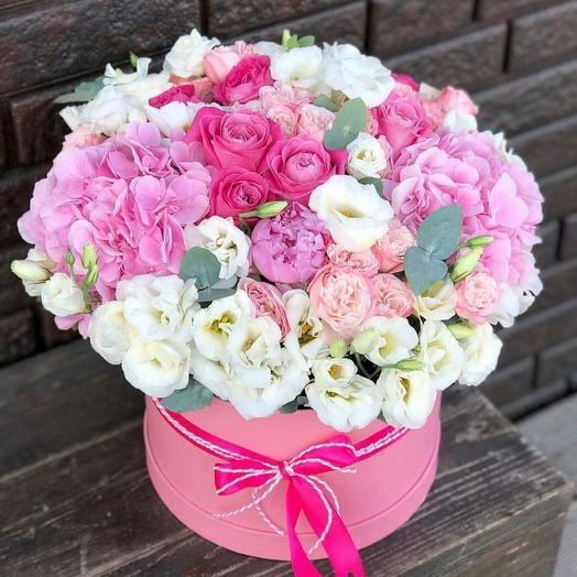 Коробка из Супер Микса: букеты цветов на заказ Flowwow