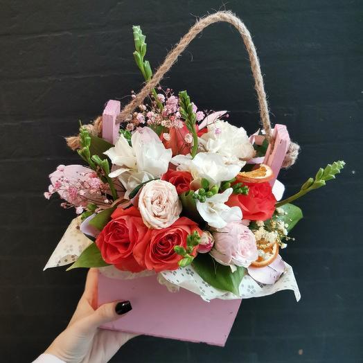 Цитрусовый 🍊: букеты цветов на заказ Flowwow