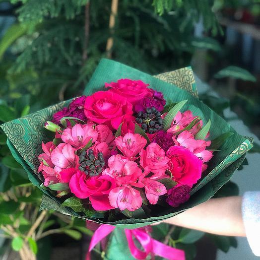 Спелая ягода: букеты цветов на заказ Flowwow