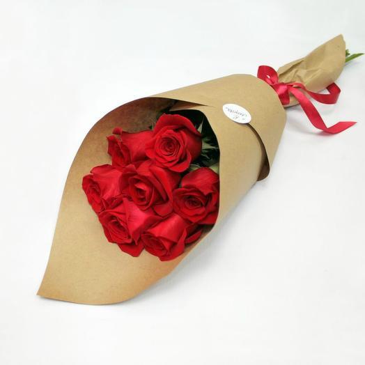 Красная роза 4
