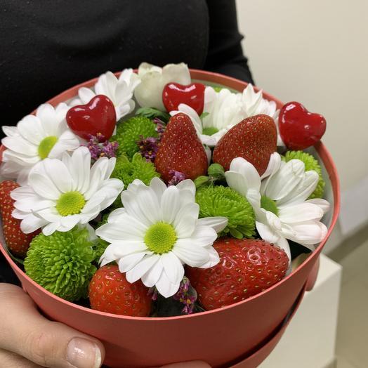 Сладкой🍓: букеты цветов на заказ Flowwow