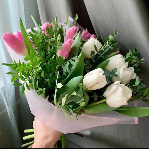 Комплименты: букеты цветов на заказ Flowwow