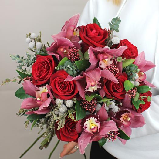 Тайна королевы: букеты цветов на заказ Flowwow