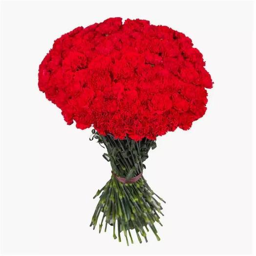101 гвоздика: букеты цветов на заказ Flowwow