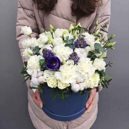 "Коробка с цветвми ""Облака"""