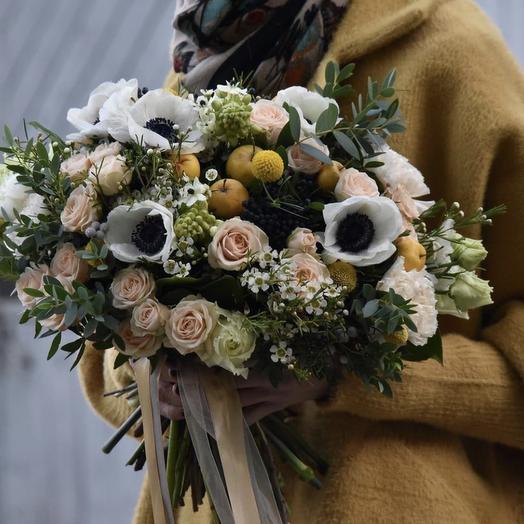 """Букет цветов """"Дыхание любимой"""""""