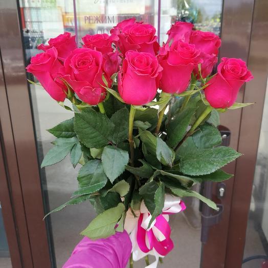 Букет из 11 роз: букеты цветов на заказ Flowwow