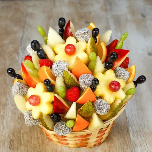 "Фруктовый букет ""Банановый"": букеты цветов на заказ Flowwow"