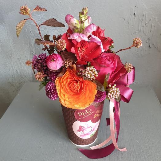 Тебе с любовью: букеты цветов на заказ Flowwow