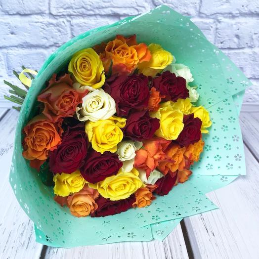 Букет «Gioia»: букеты цветов на заказ Flowwow