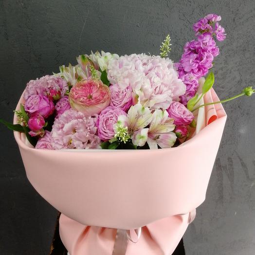 Кружевная нежность: букеты цветов на заказ Flowwow