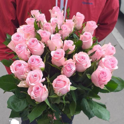 19 розывые роза