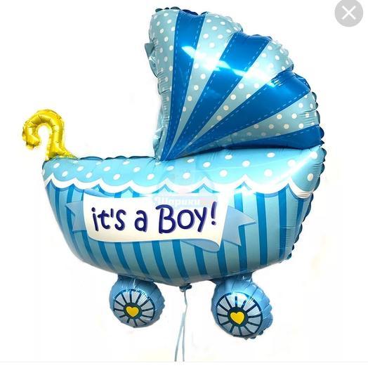 Balloon Stroller It is a boy!102 cm