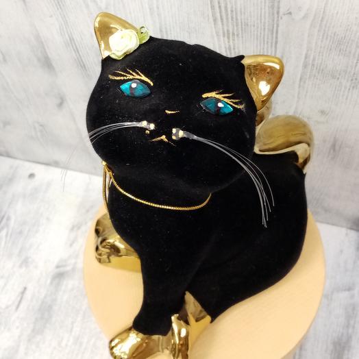 Керамический котенок (копилка)