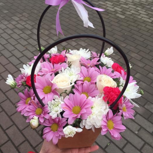 Цветочная сумочка 🌿