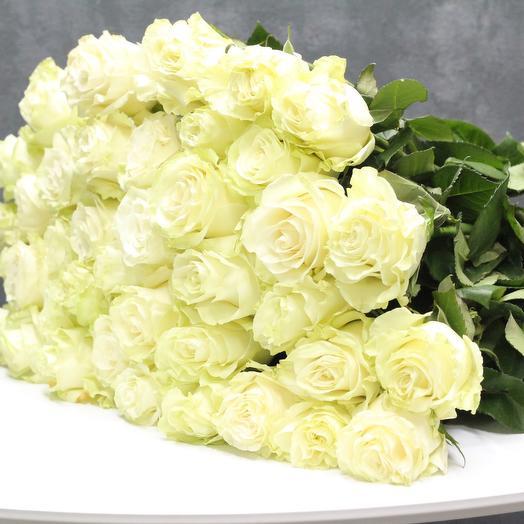 51 эквадорская роза 70см