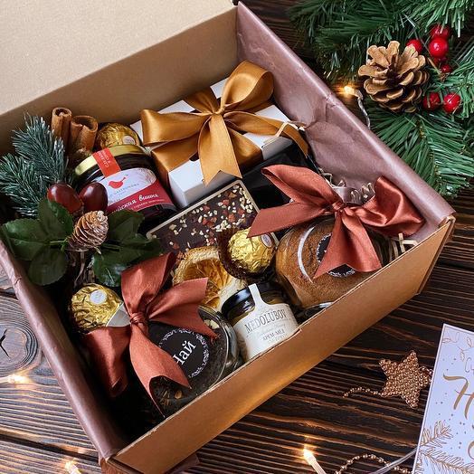 Подарочный набор «Gold box»