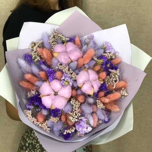 Букет из сухоцветов (Праздничный)