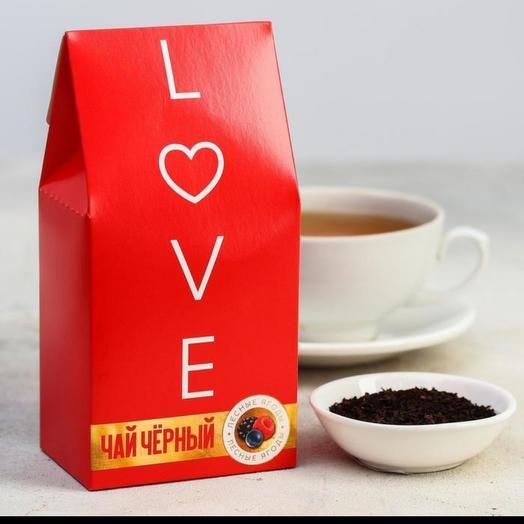 """Чай чёрный """"LOVE"""""""