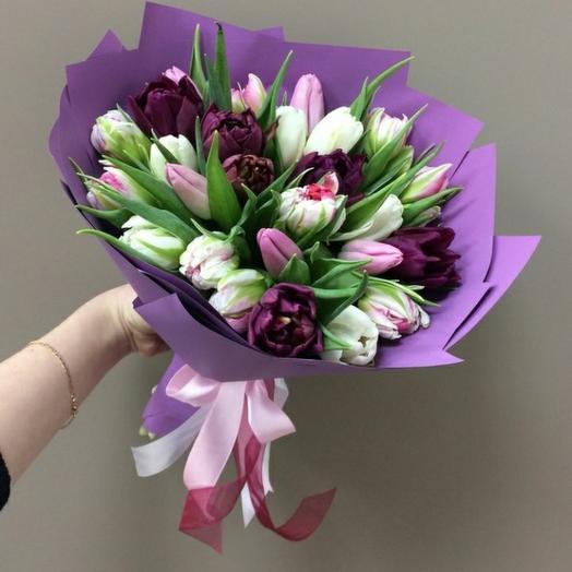 Микс тюльпаны